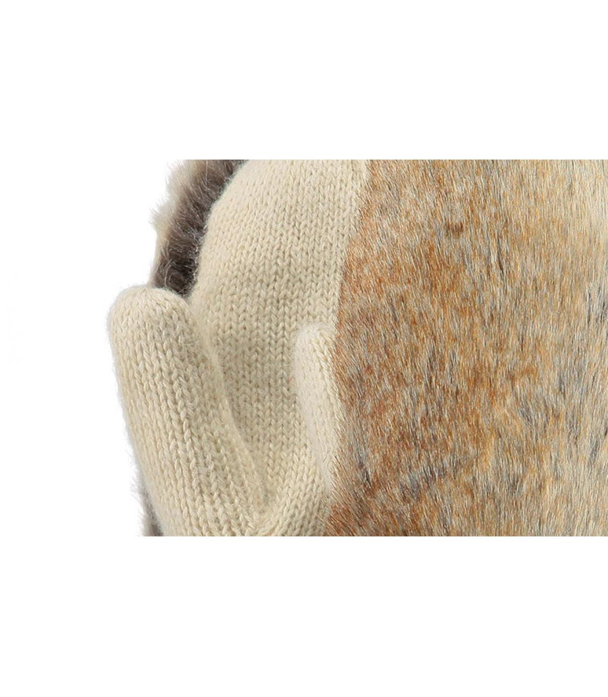 Details Amaranth paws beige - afbeeling 2