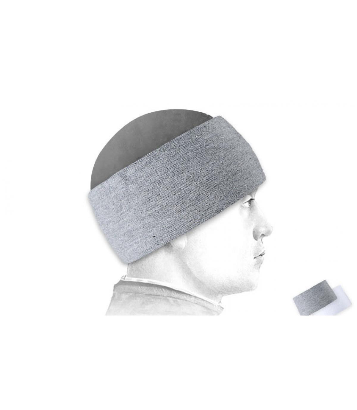 Ski hoofdband grijs