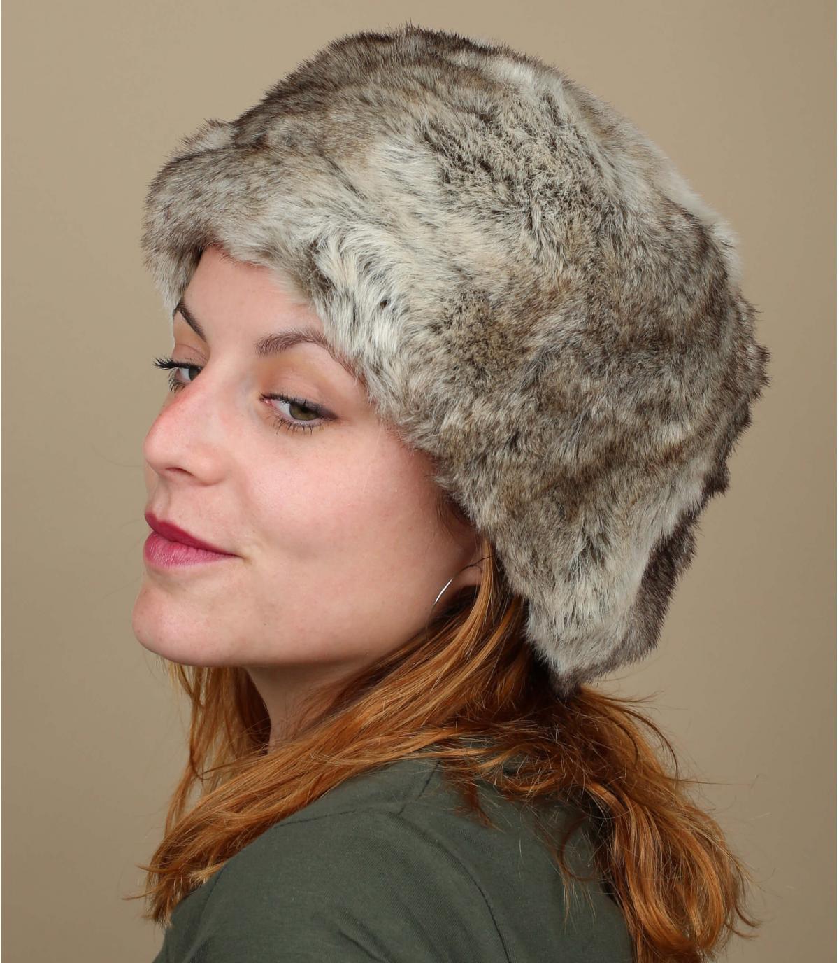 Grijze hoed