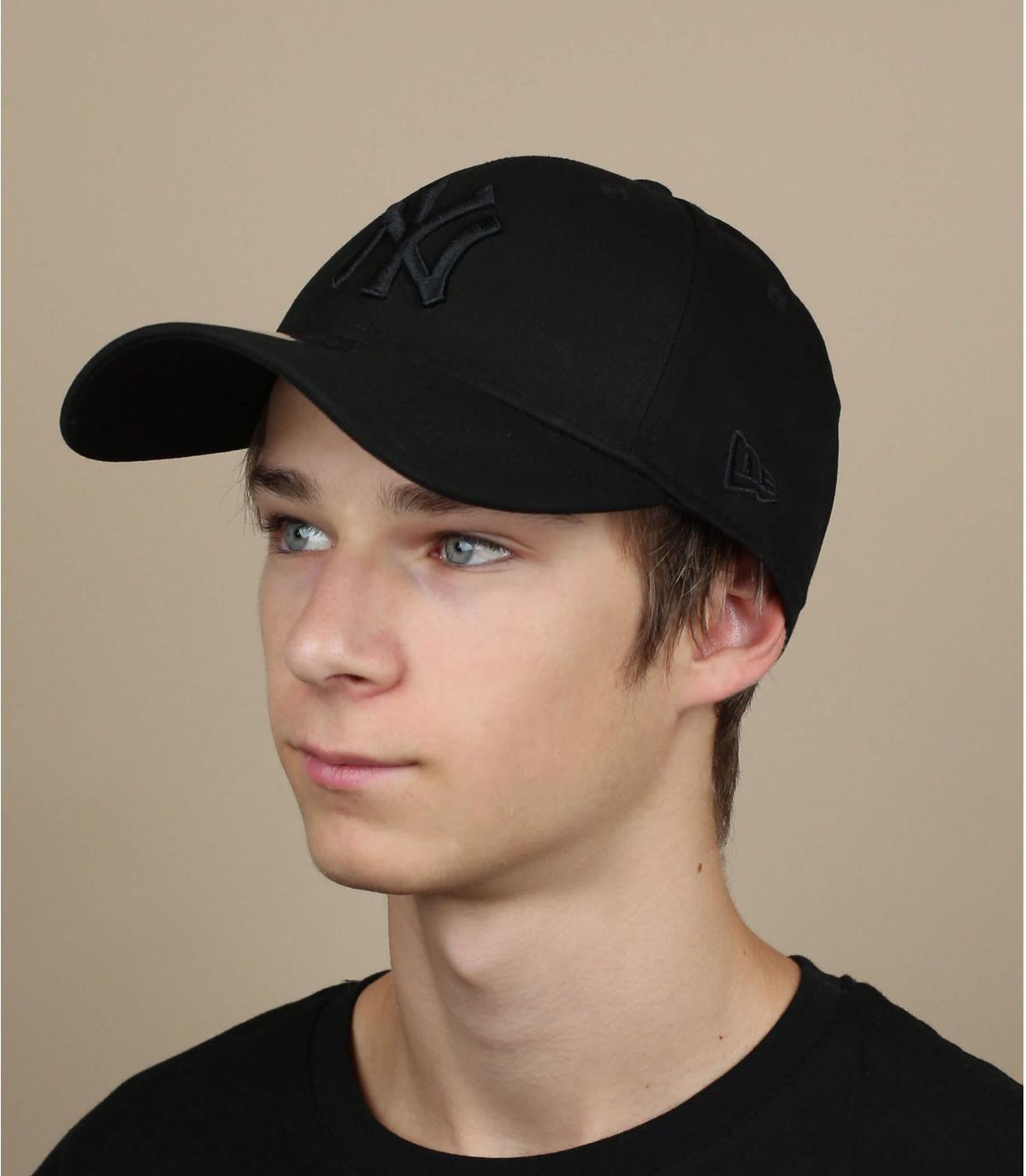 NY zwarte baseball cap