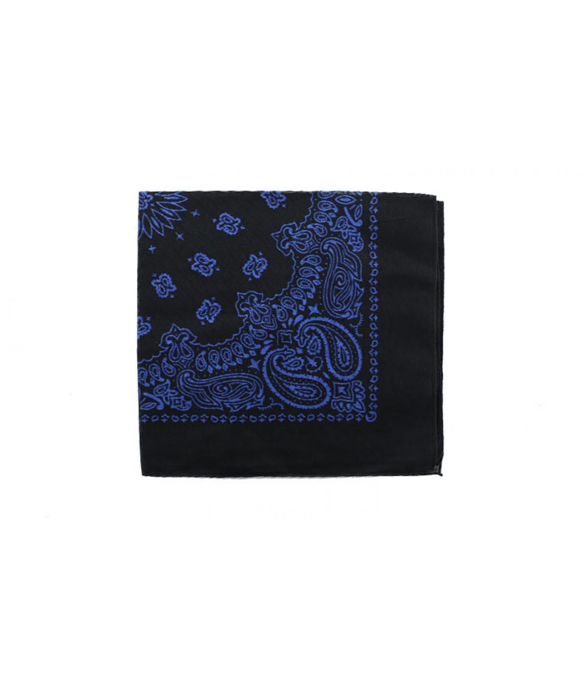 donker blauwe bandana