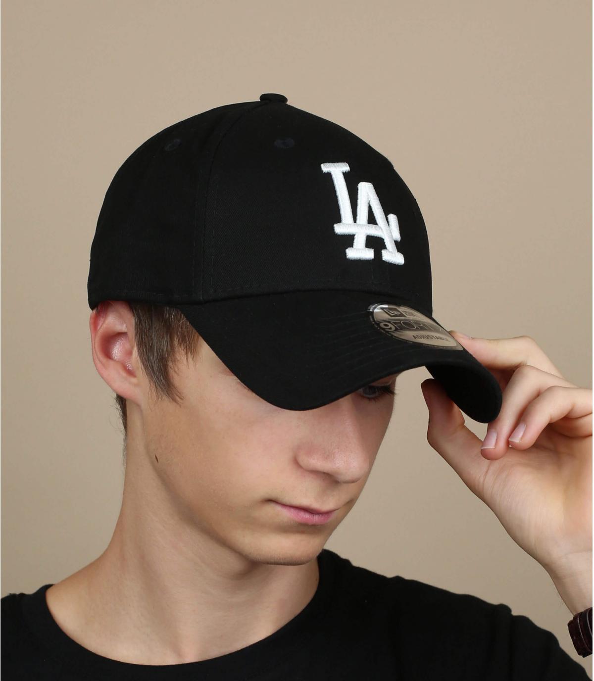 9Fourty zwarte LA hat