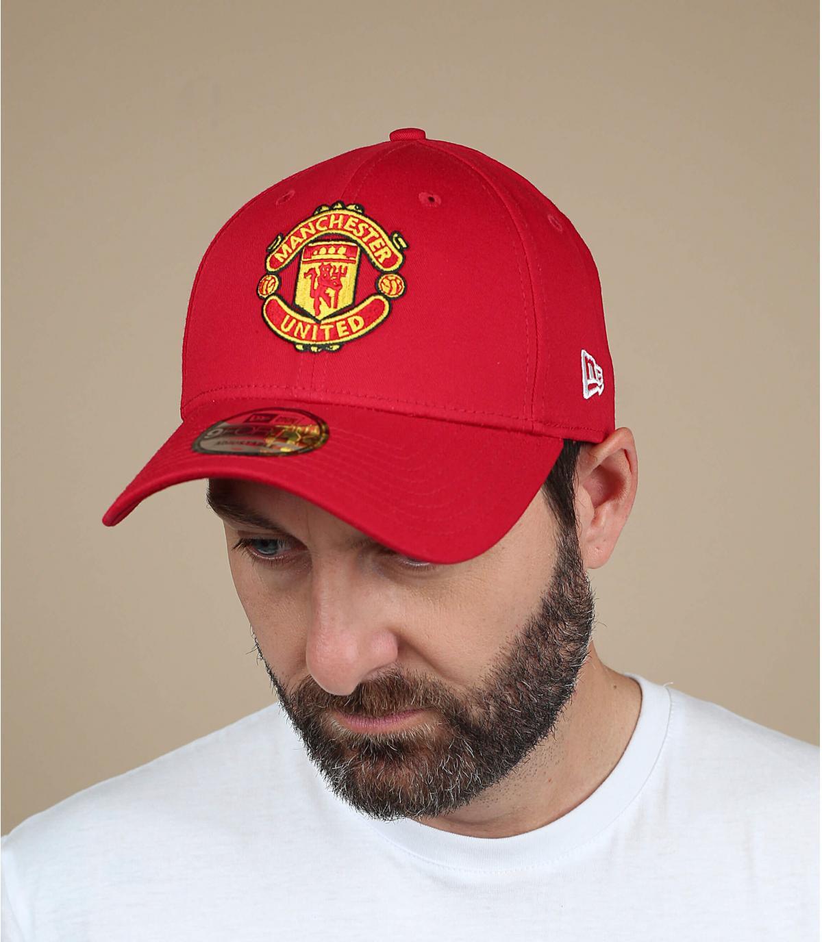 Cap rode Manchester United