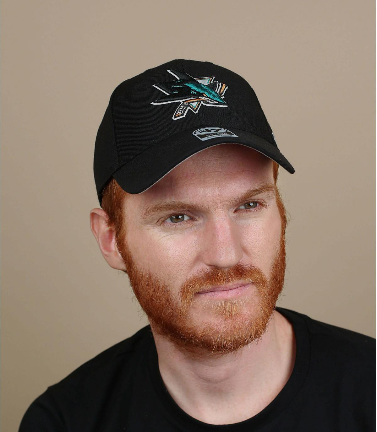 San Jose Sharks zwarte dop