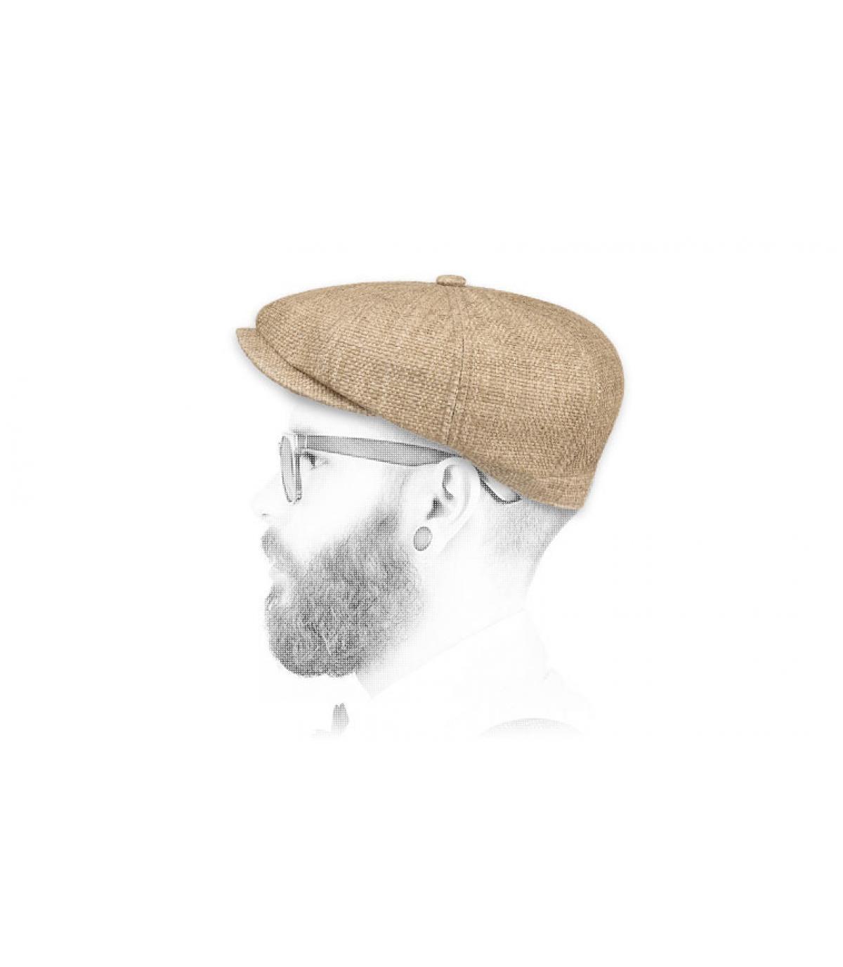 krantenverkoper cap stro Stetson