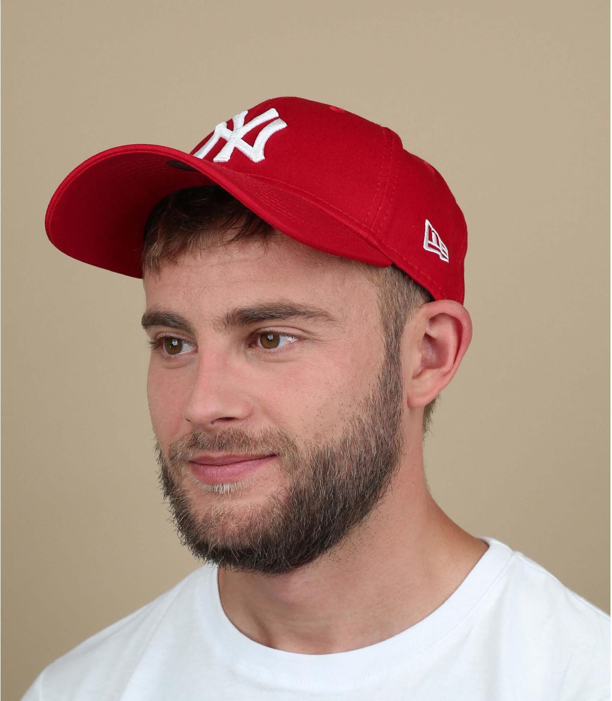 Cap verstelbaar rood