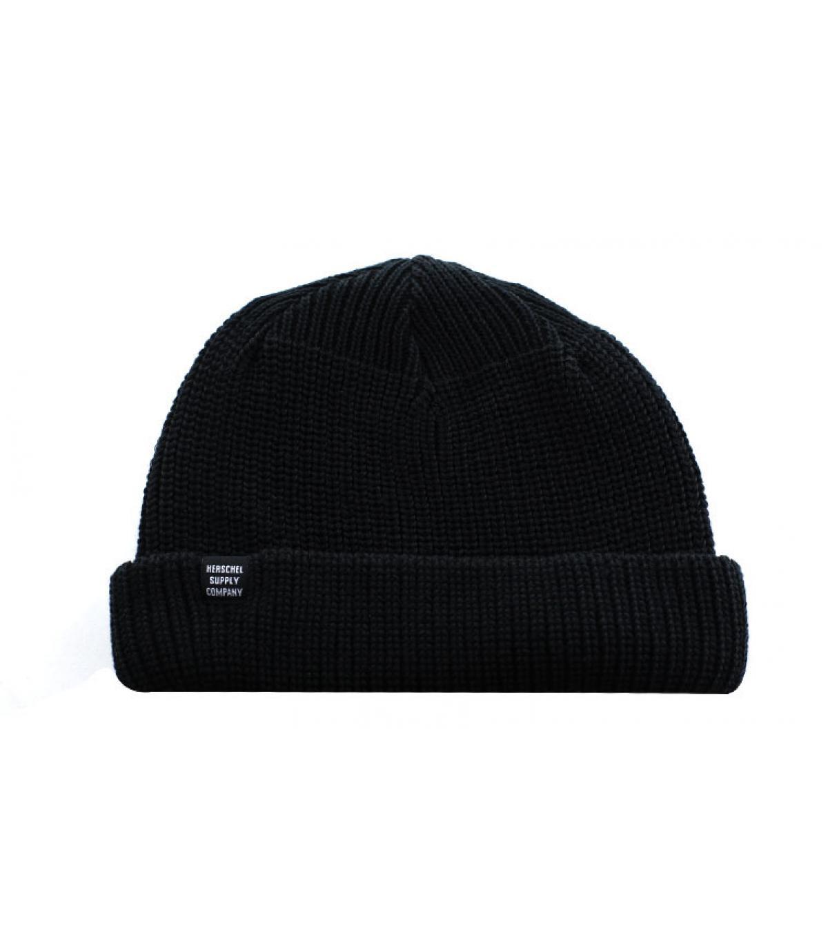 Herschel zwarte hoed docker