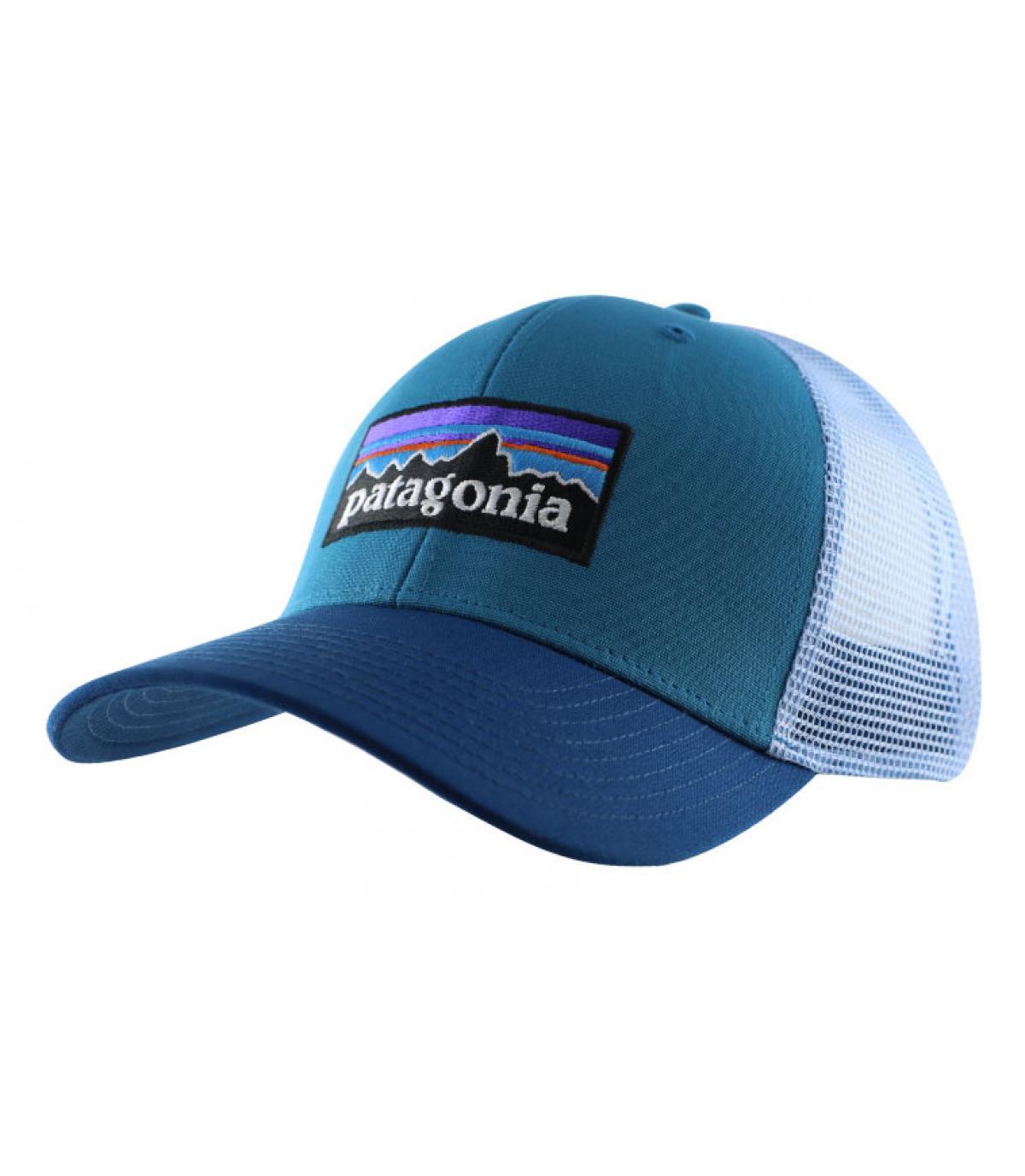 Details P6 Logo Trucker filter blue - afbeeling 2
