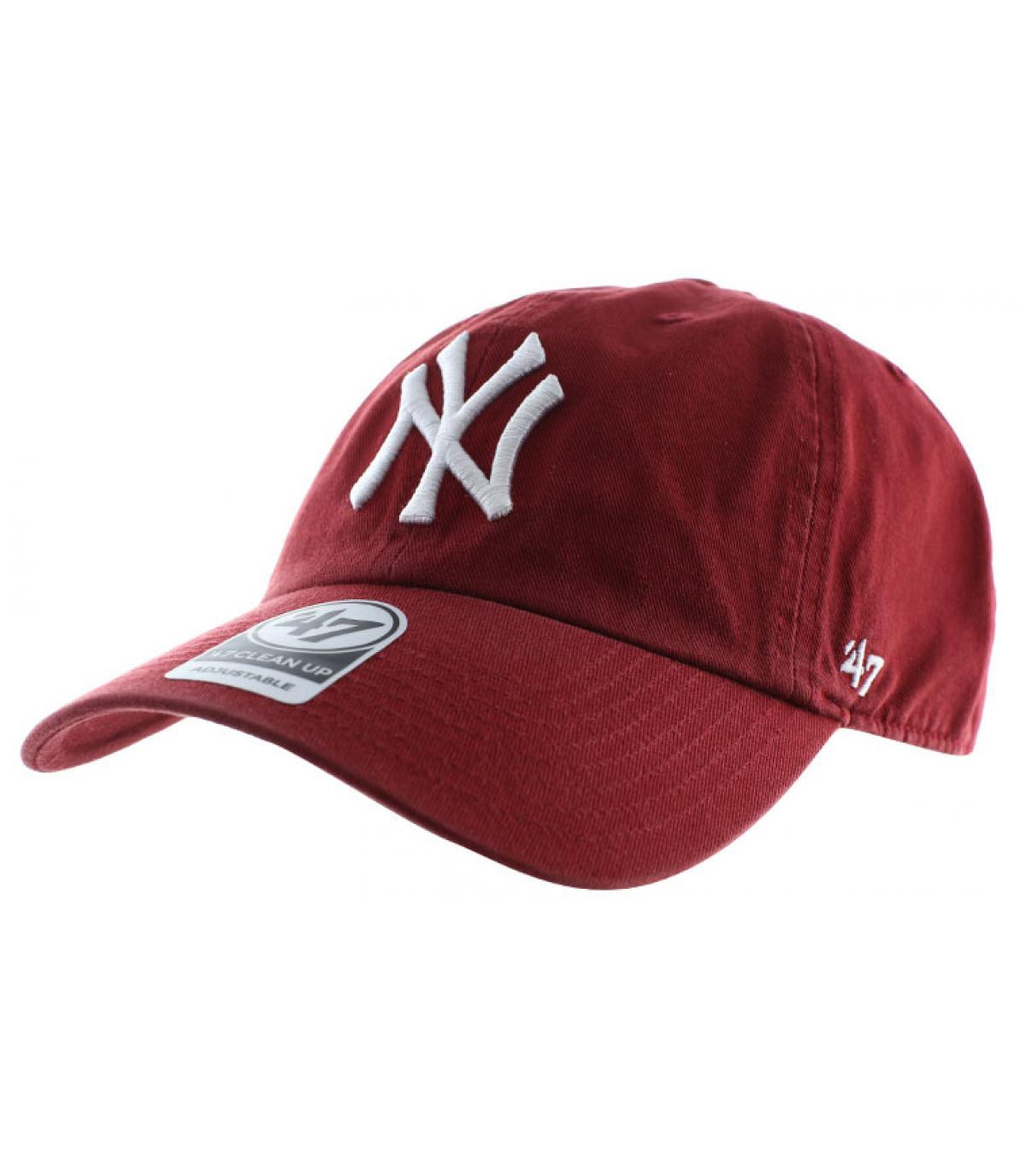 Details Clean Up NY razor red - afbeeling 2