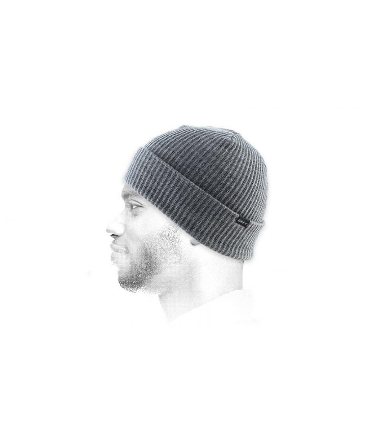heide grijze hoed revers Obey