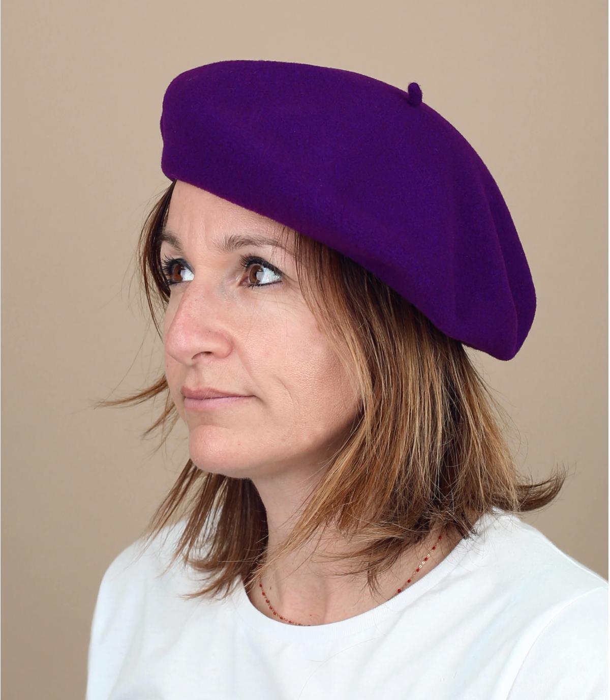 paarse baret verdubbeld