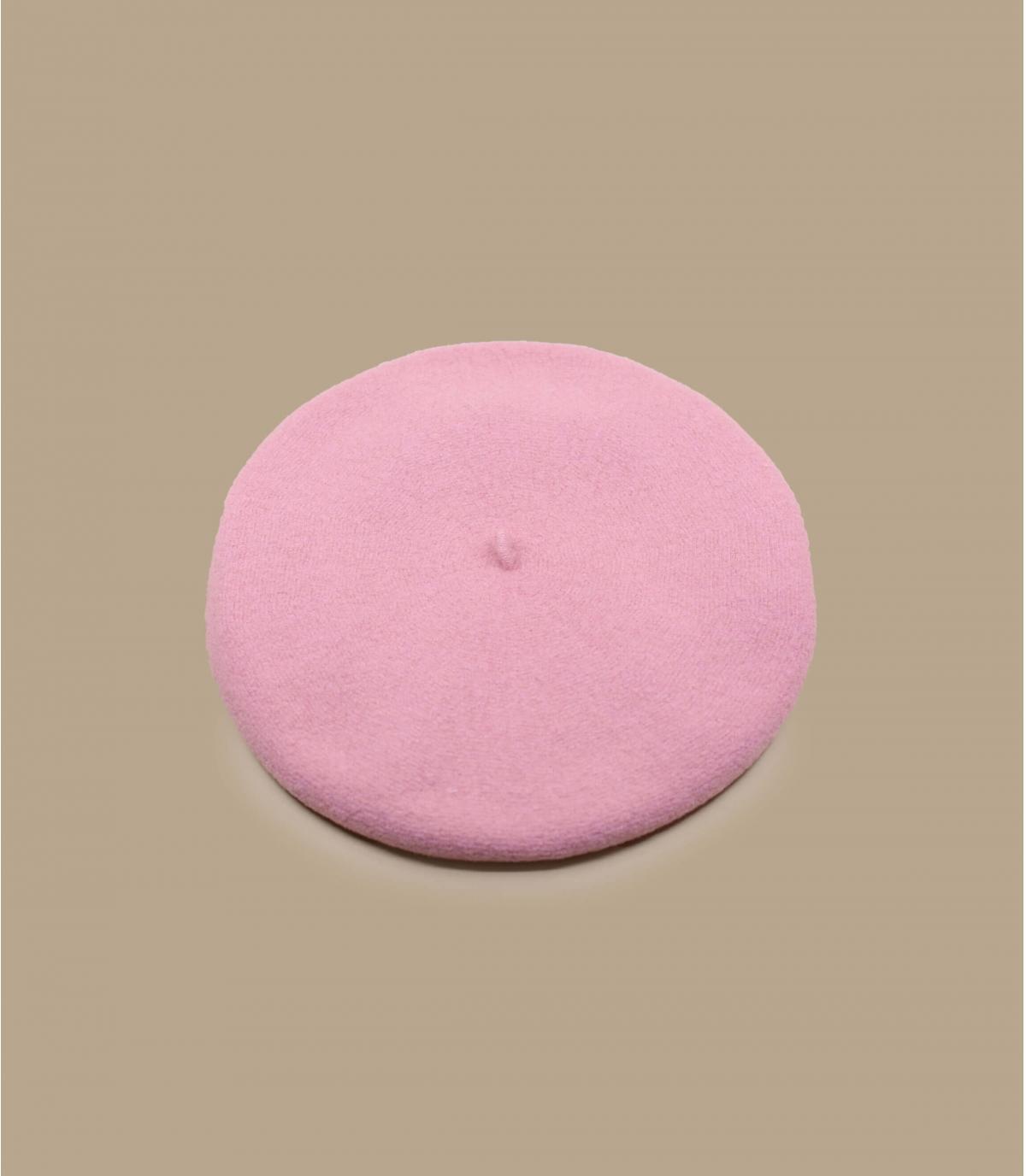 roze baret verdubbeld