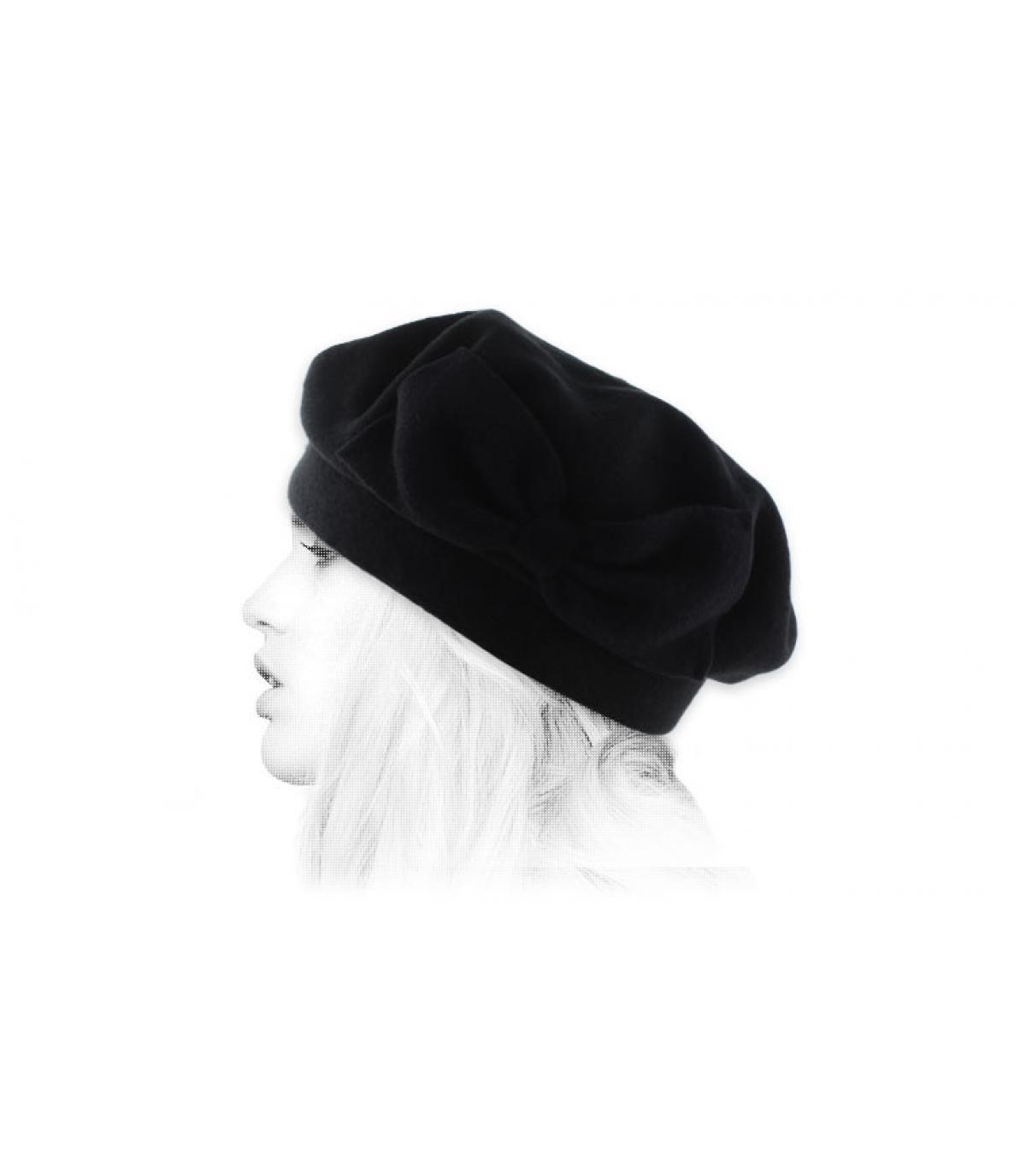 zwarte baret Laulhère knooppunt