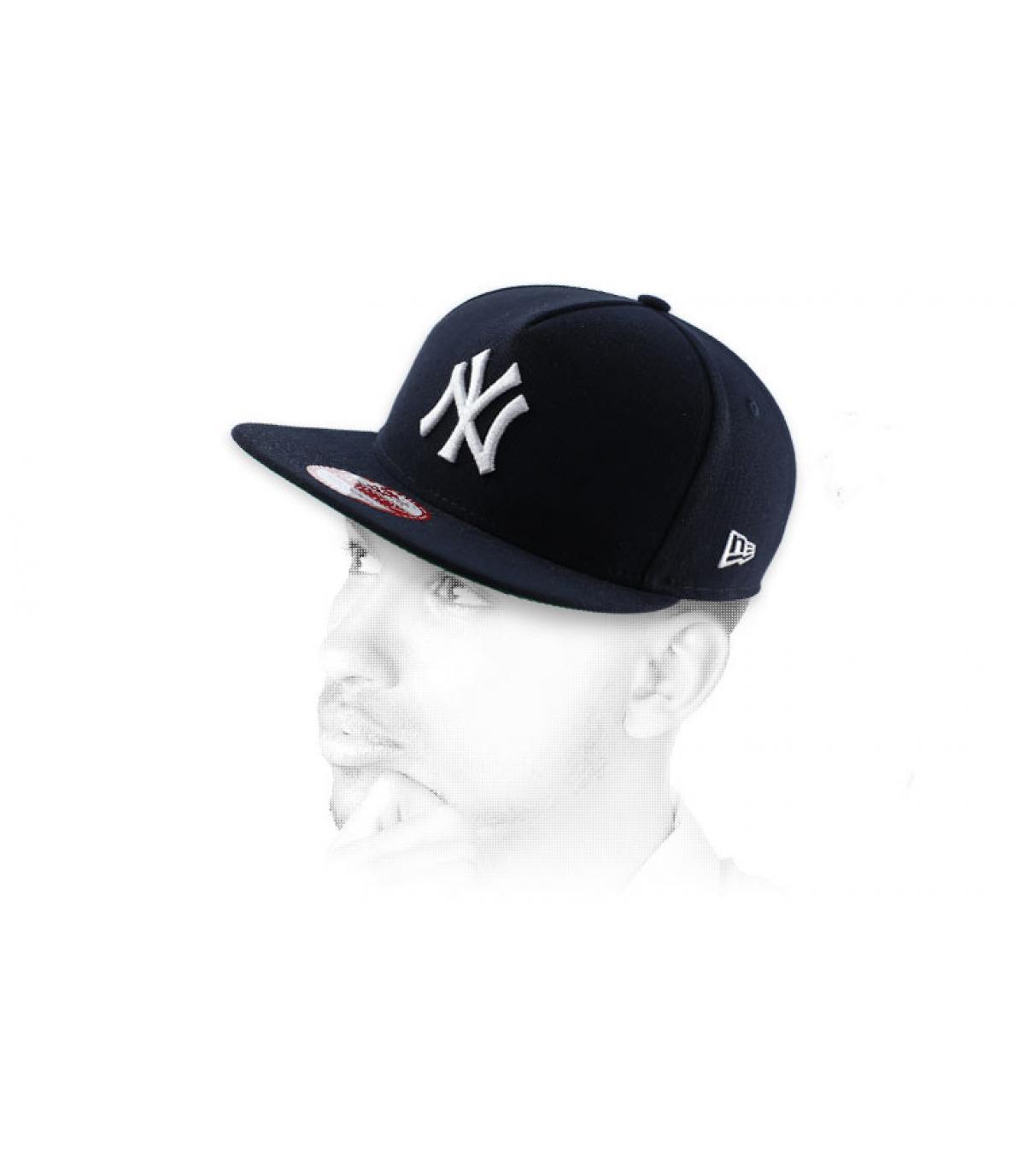 zwarte snapback NY