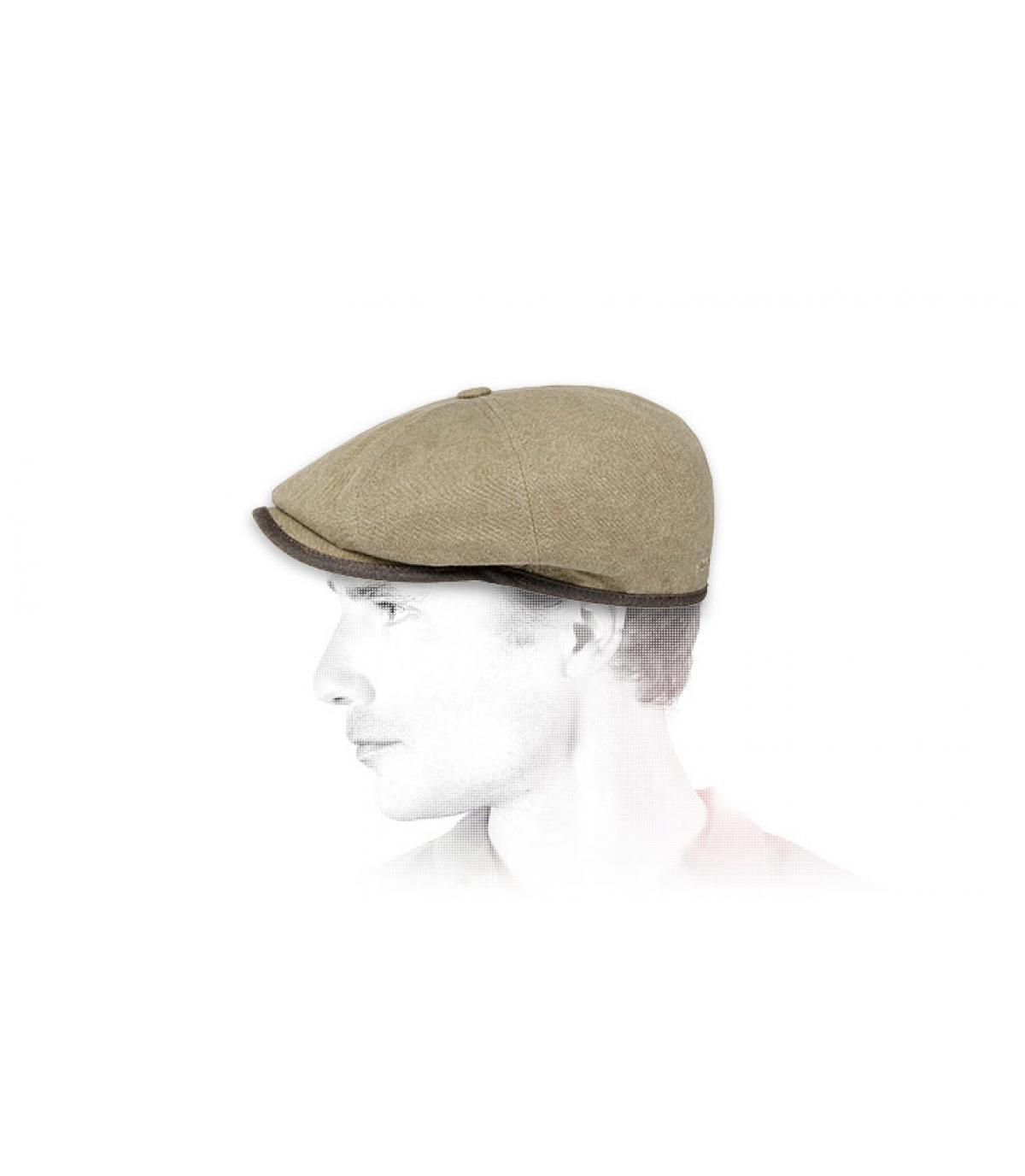 beige Stetson hoed