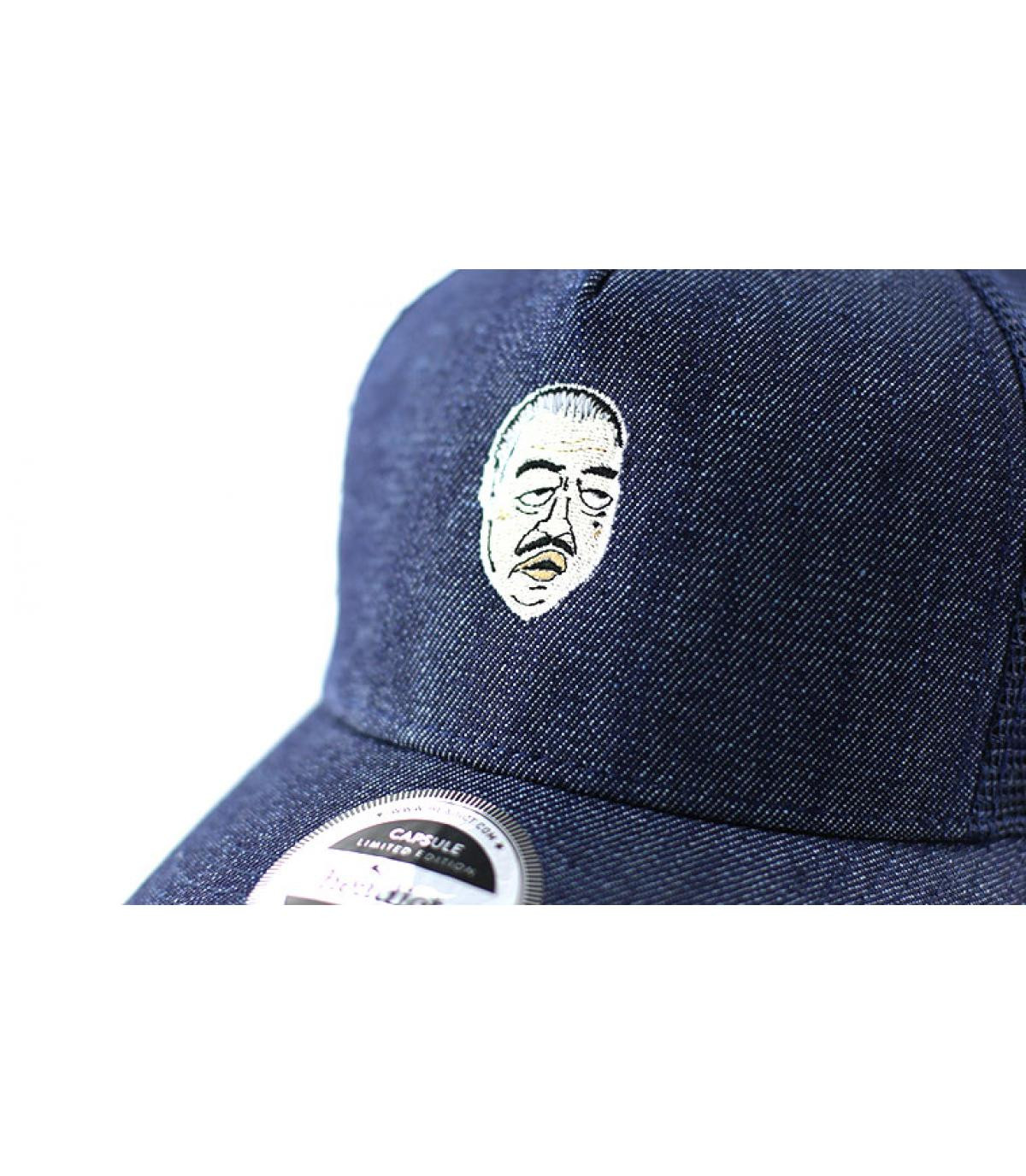 Details Trucker Don Corleone denim blue - afbeeling 3