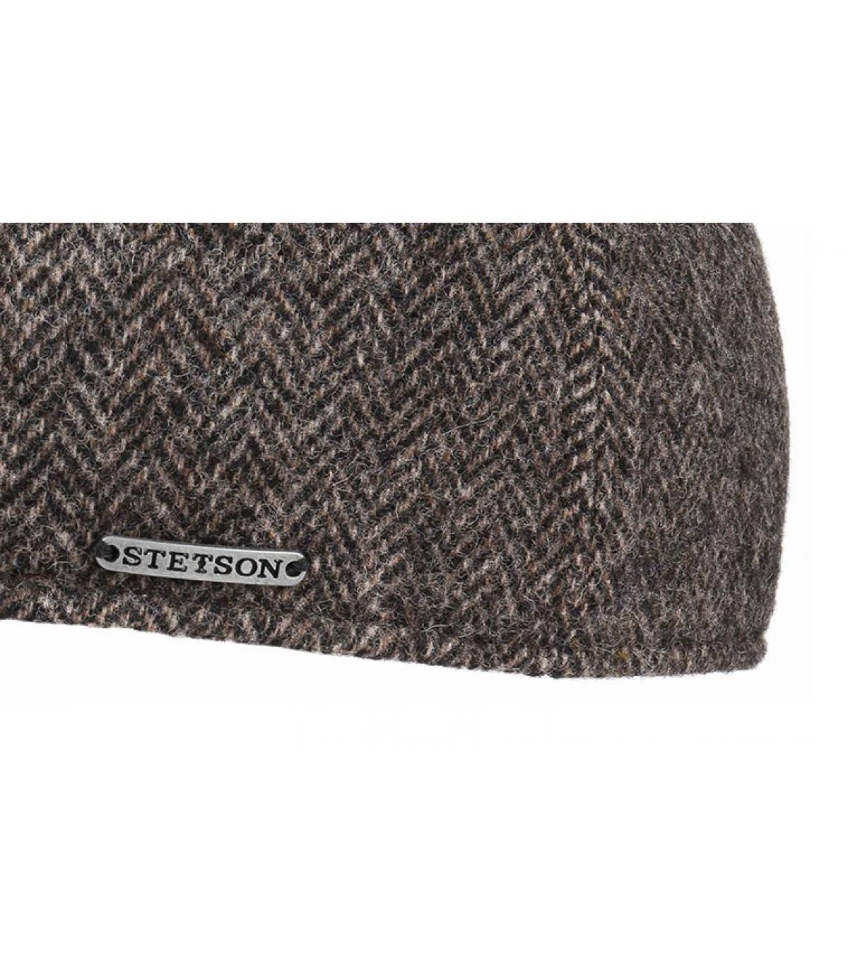 Details Texas Woolrich Herringbone grey - afbeeling 3