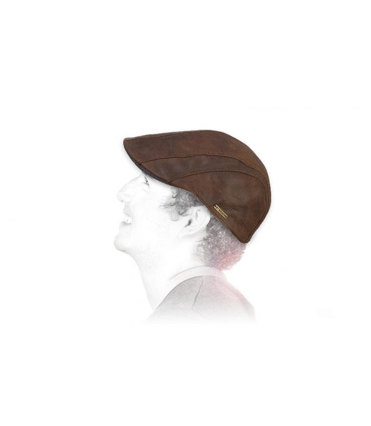 baret geitenleer Stetson