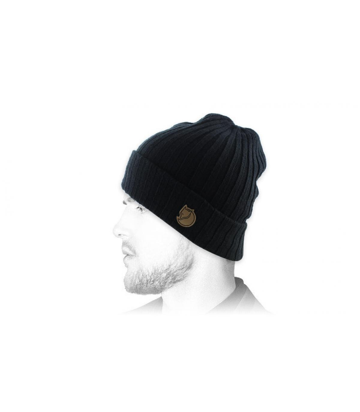 zwarte hoed revers Fjällräven