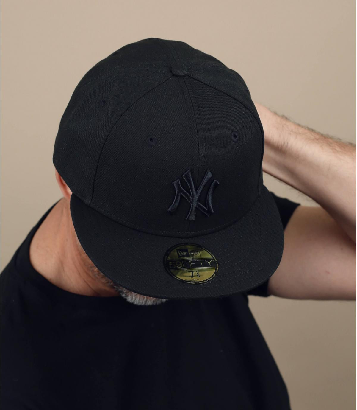 Cap NY zwart