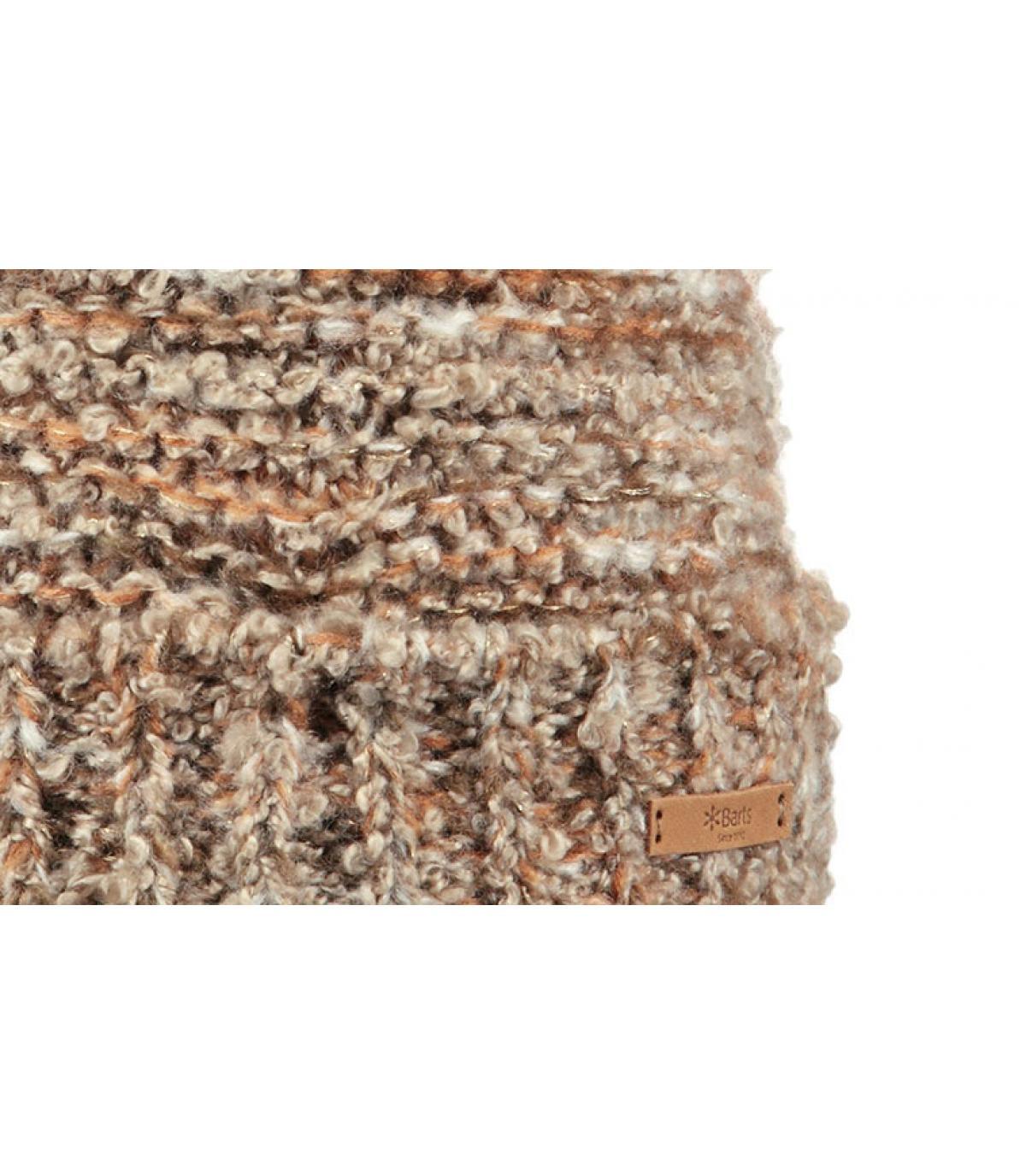Details Siret Beanie brown - afbeeling 3