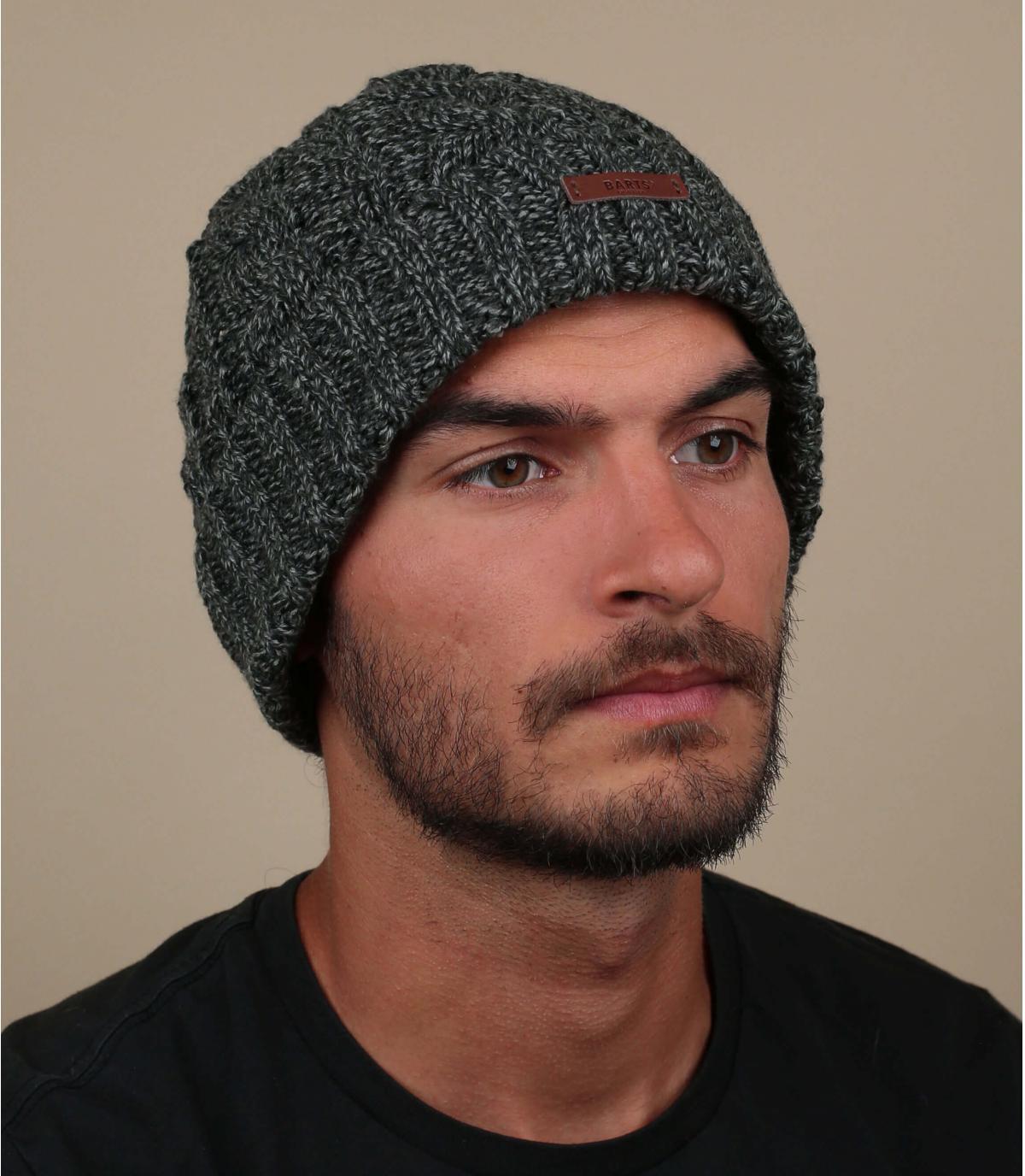 hoed revers zwarte twist