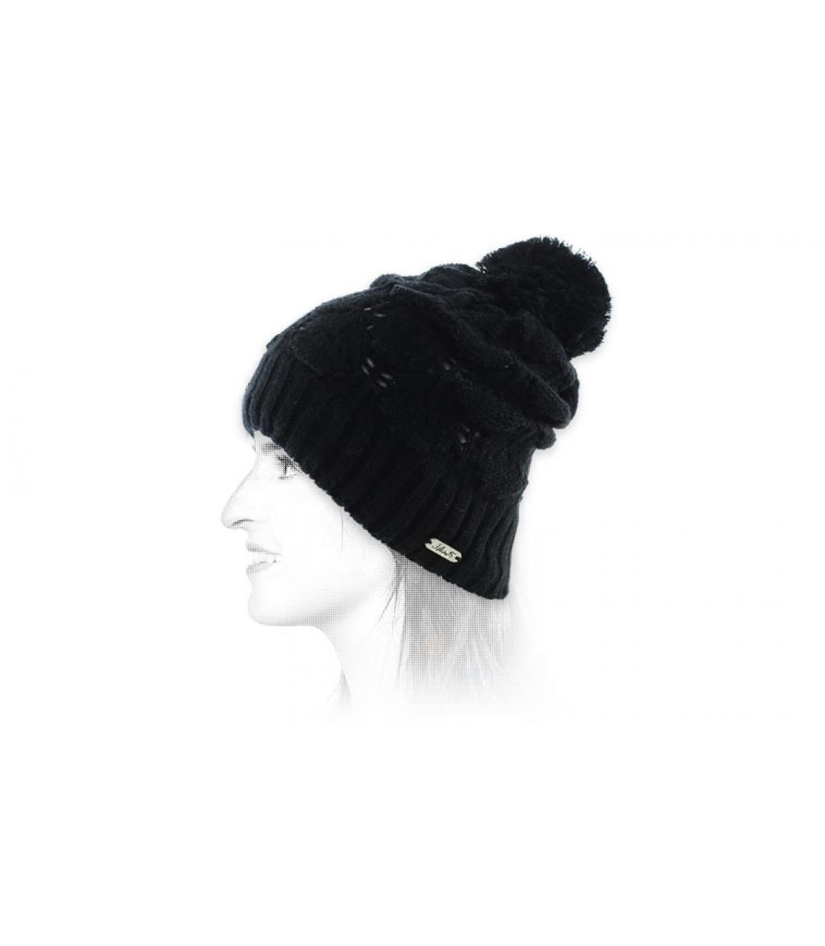 zwarte kwast cap Chillouts