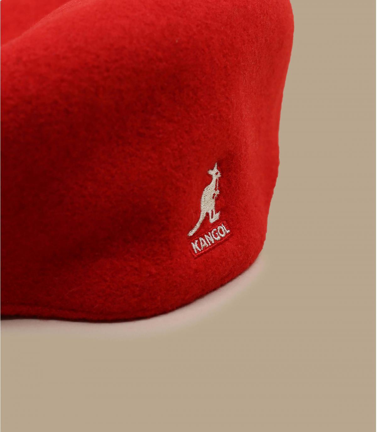 Details 504 wol rood - afbeeling 2