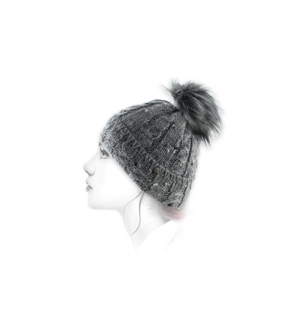 grijs leeswijzer cap
