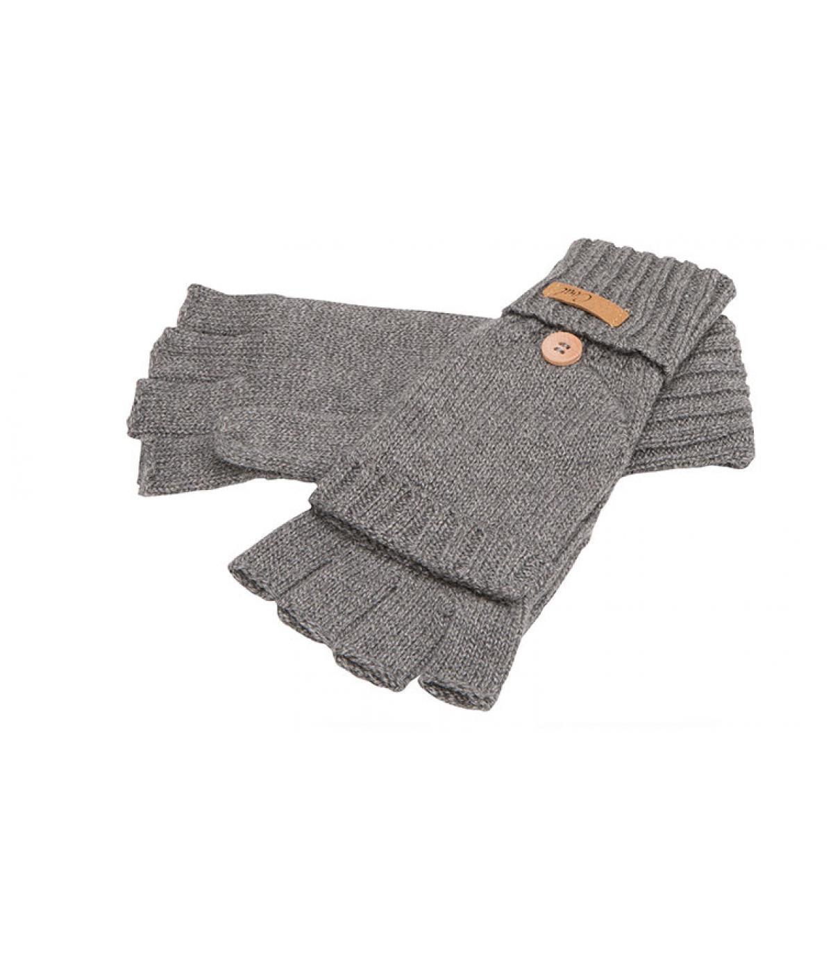 grijze handschoenen wanten