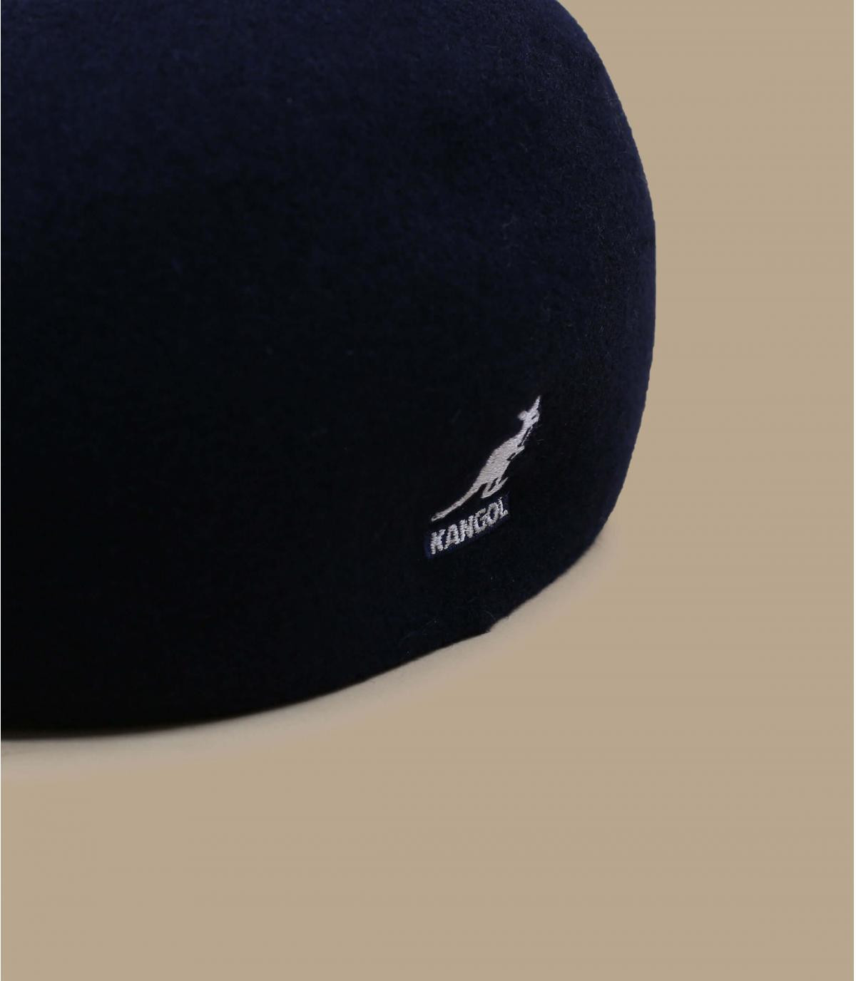 Details 507 wol seamless navy - afbeeling 1
