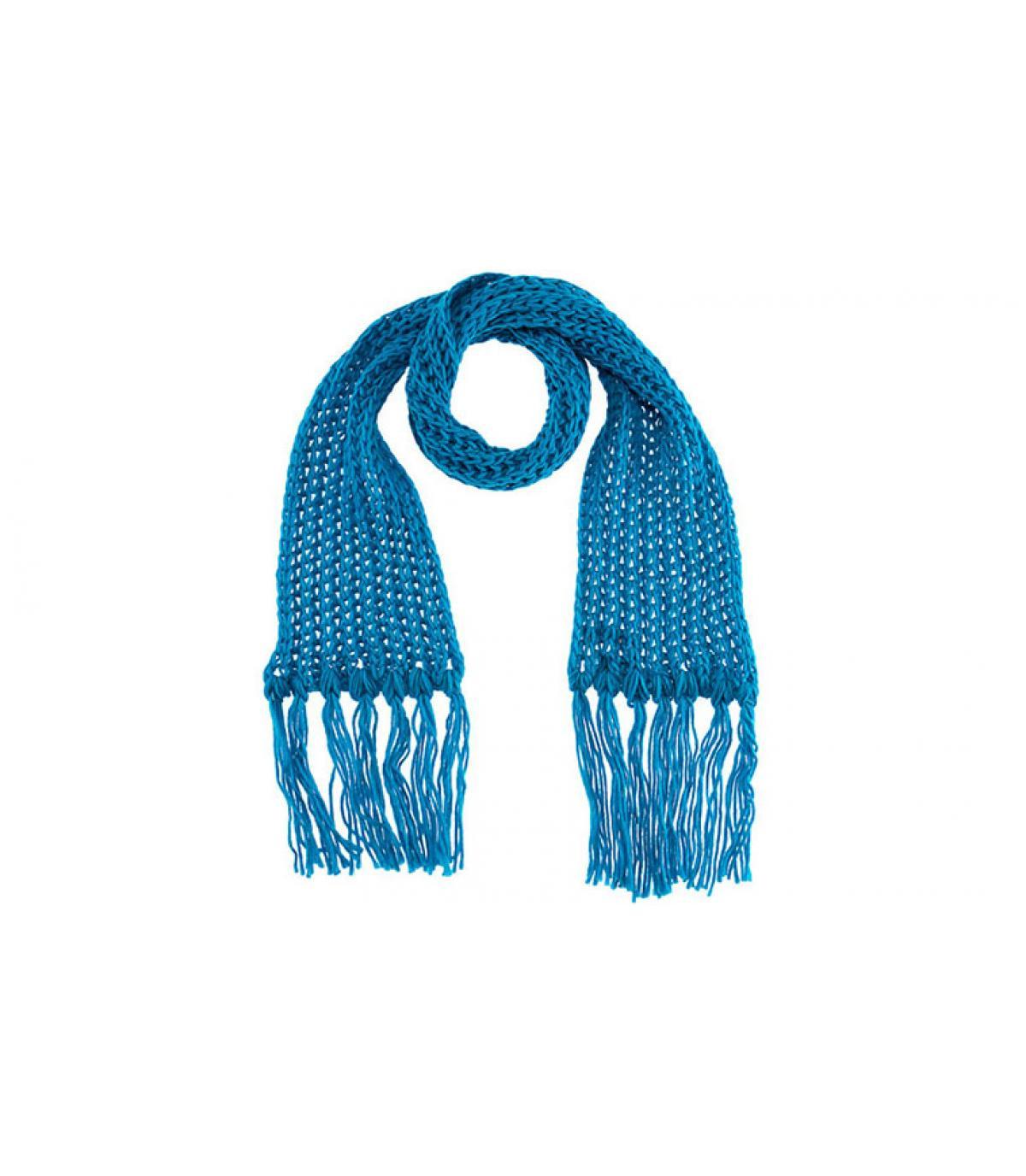 Turquoise sjaal passigatti
