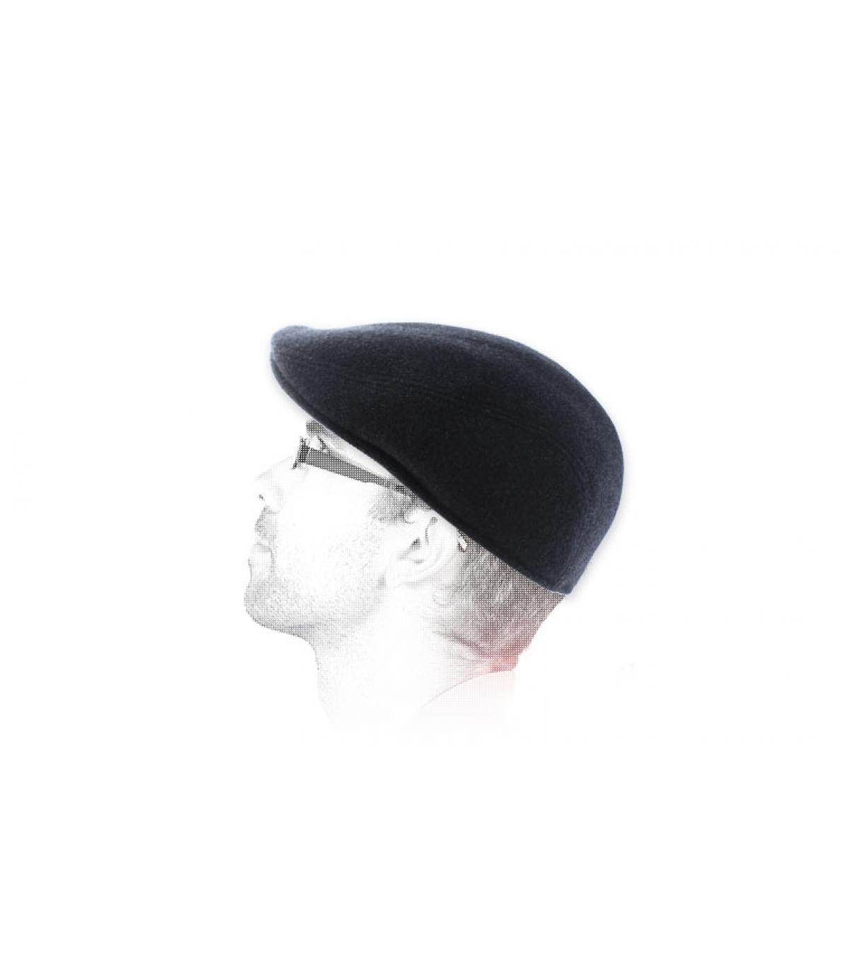 grijs baret