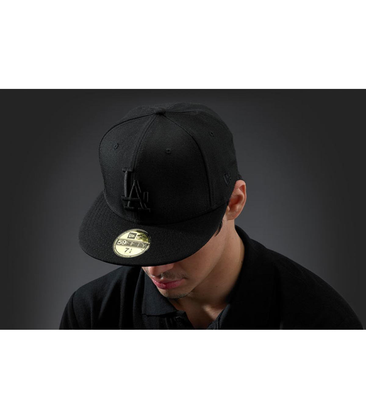 Zwarte cap