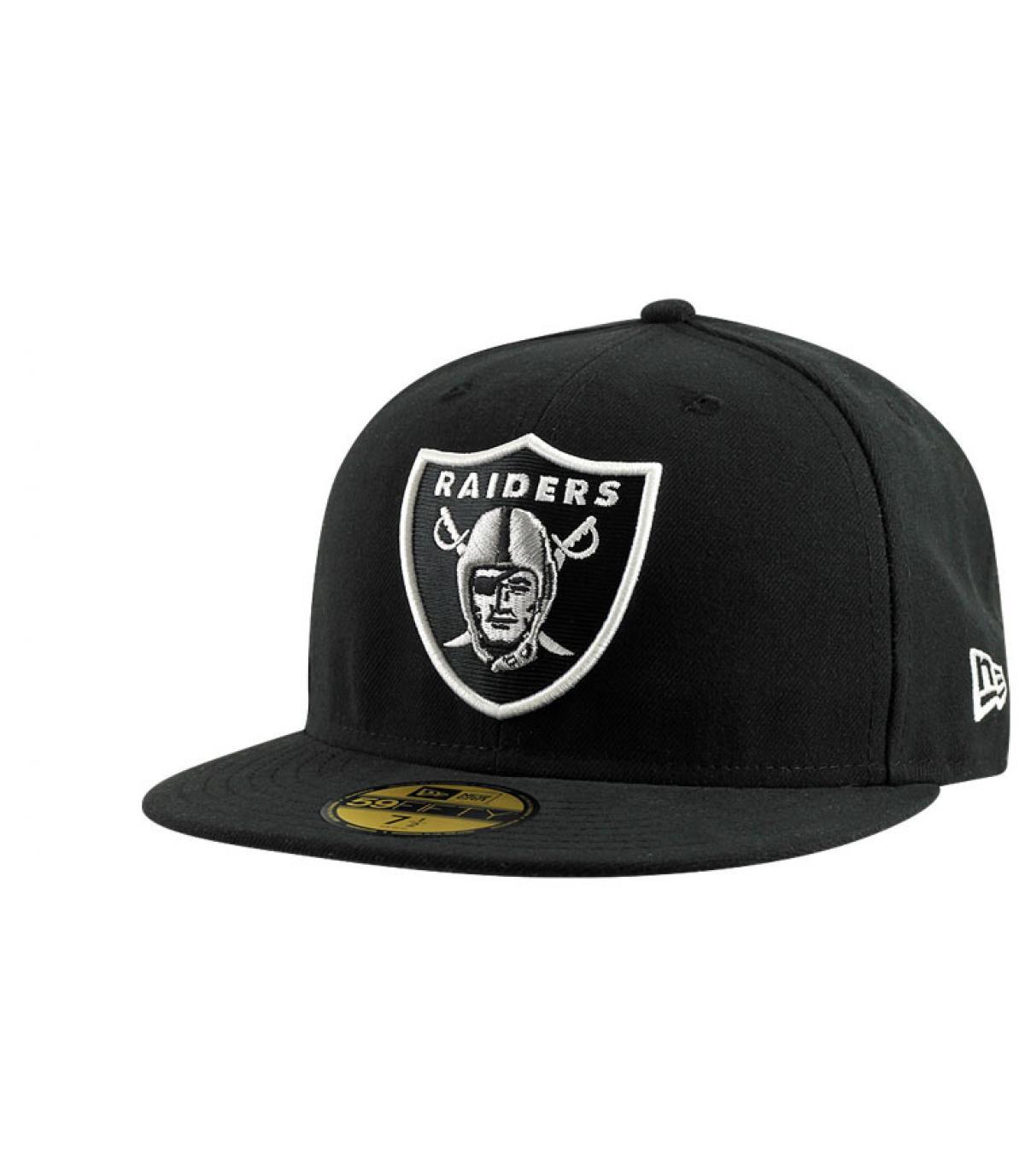 Details Cap Raiders zwart - afbeeling 5