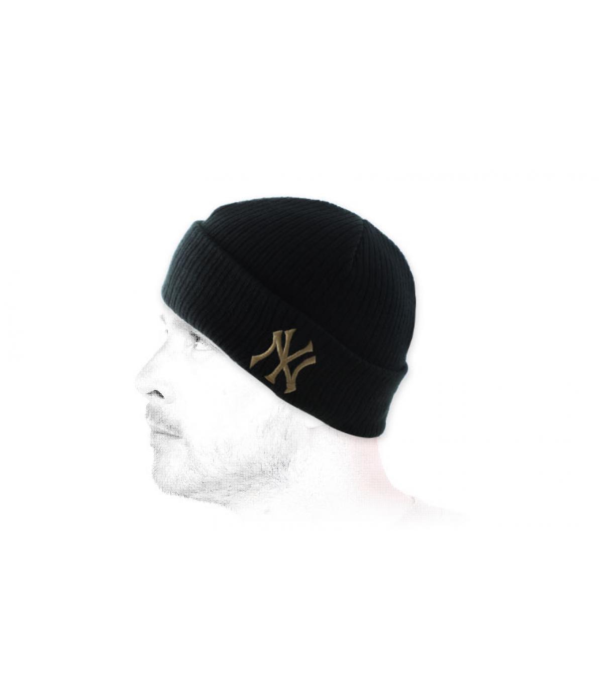 Bonnet NY zwarte omkering