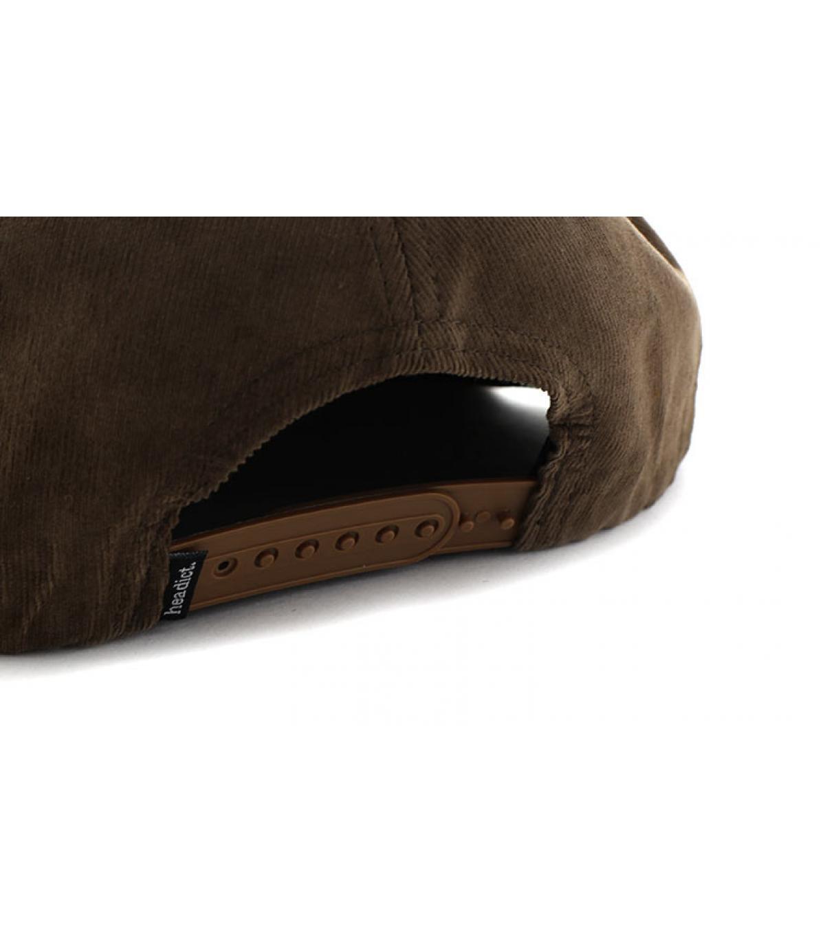 Details Snapback Aaaargh brown cork - afbeeling 5