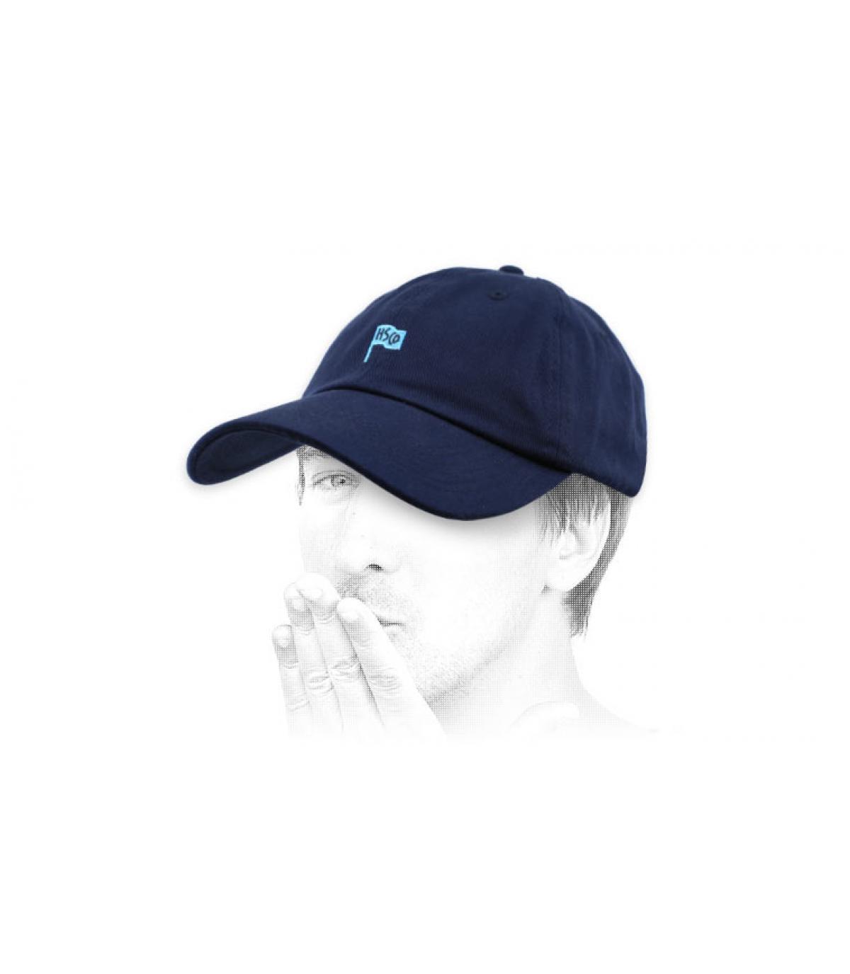 Herschel blauwe curve pet