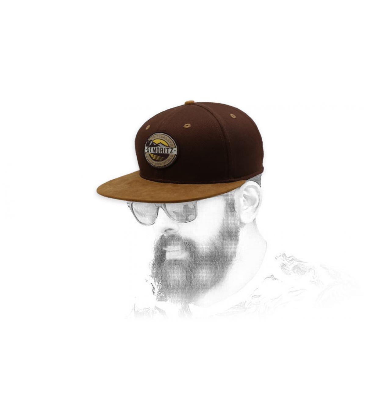 snapback st. moritz bruin