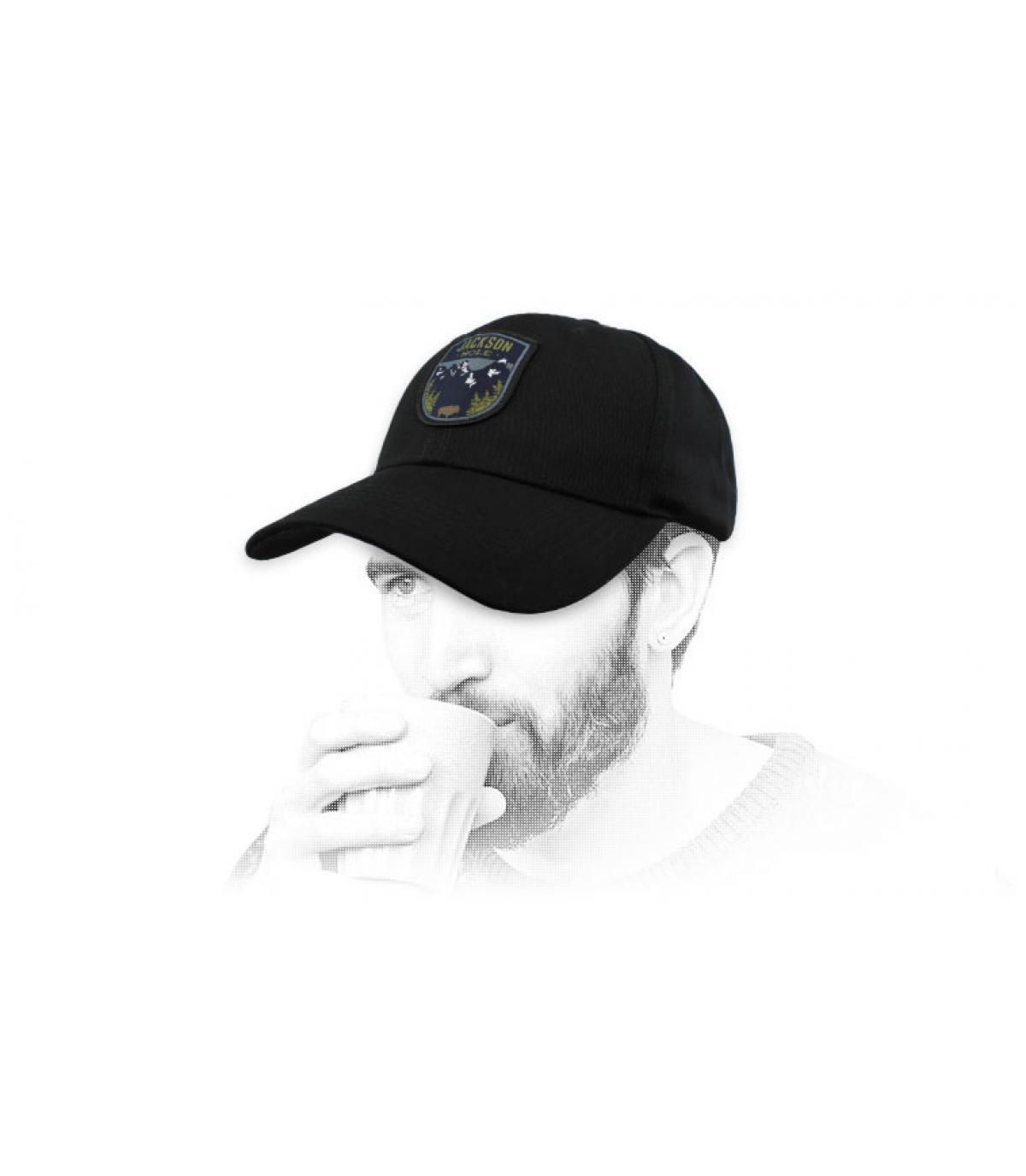 cap jackson hole zwart