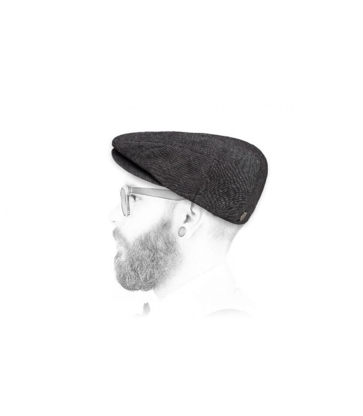 Brixton zwarte linnenbaard