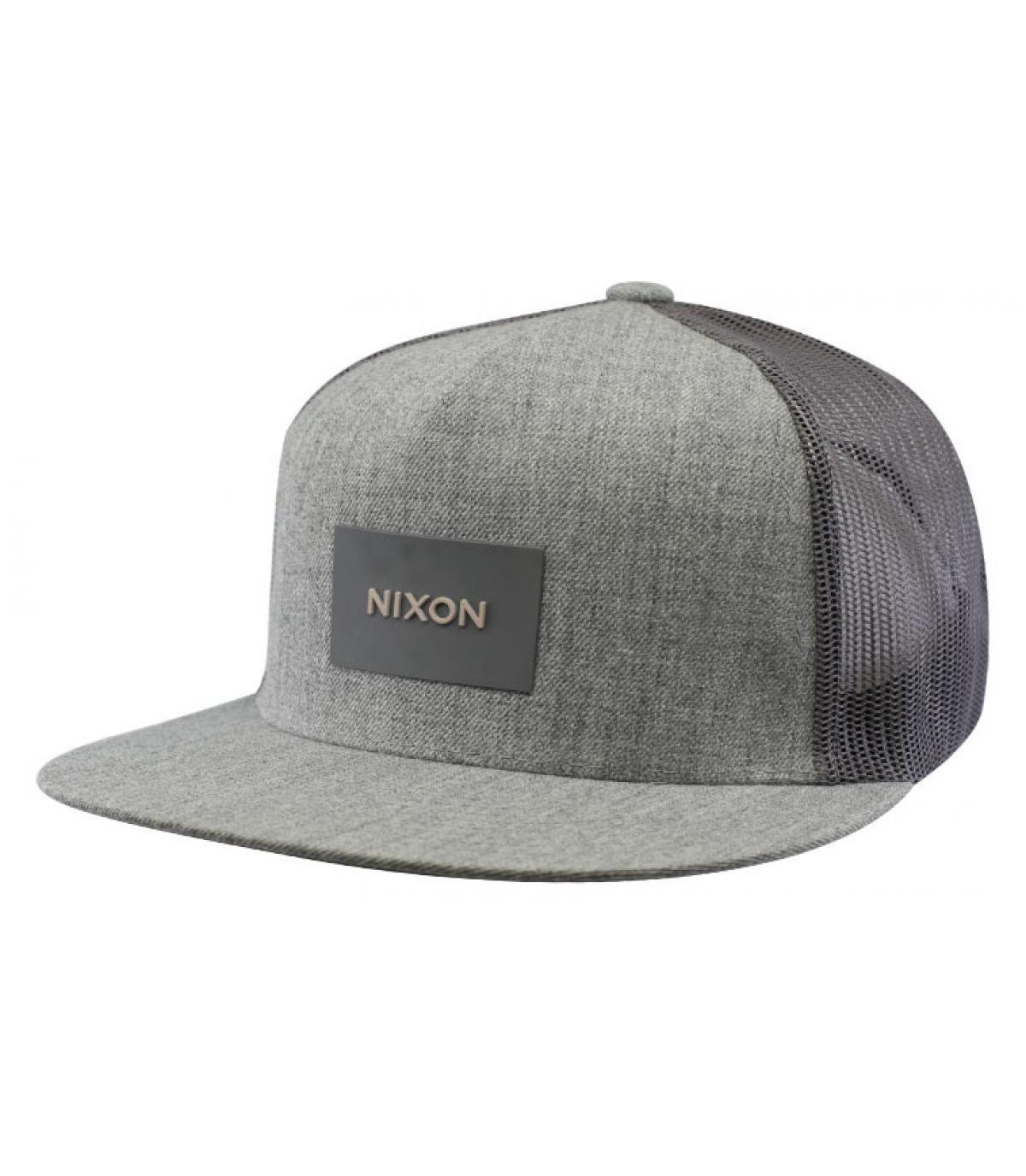 grijze vrachtwagenchauffeur Nixon