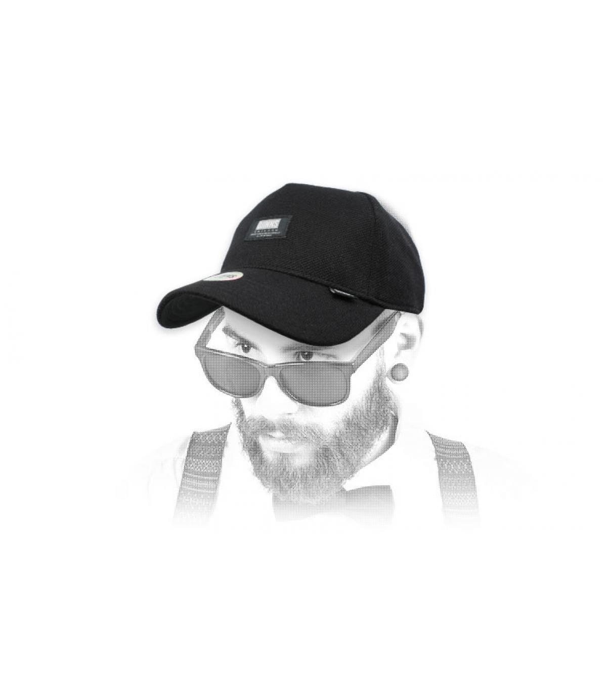 zwarte Djinns cap
