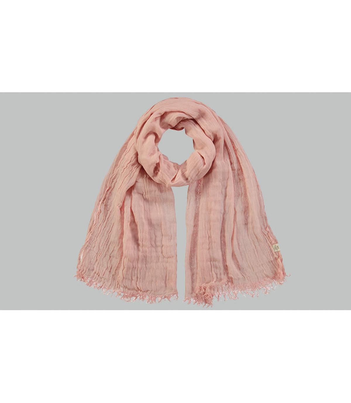 roze katoenen sjaal