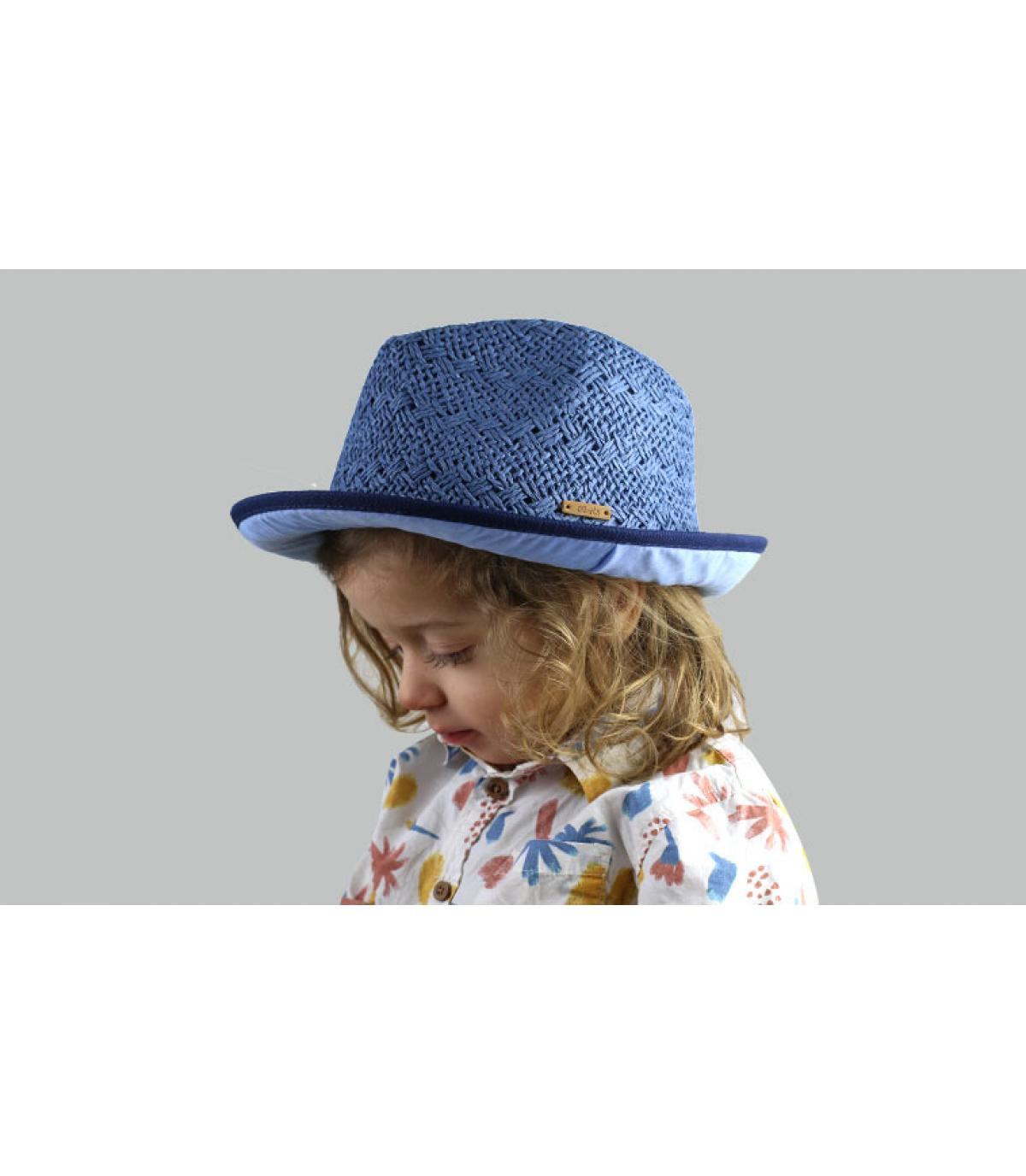 trilby blauw kind